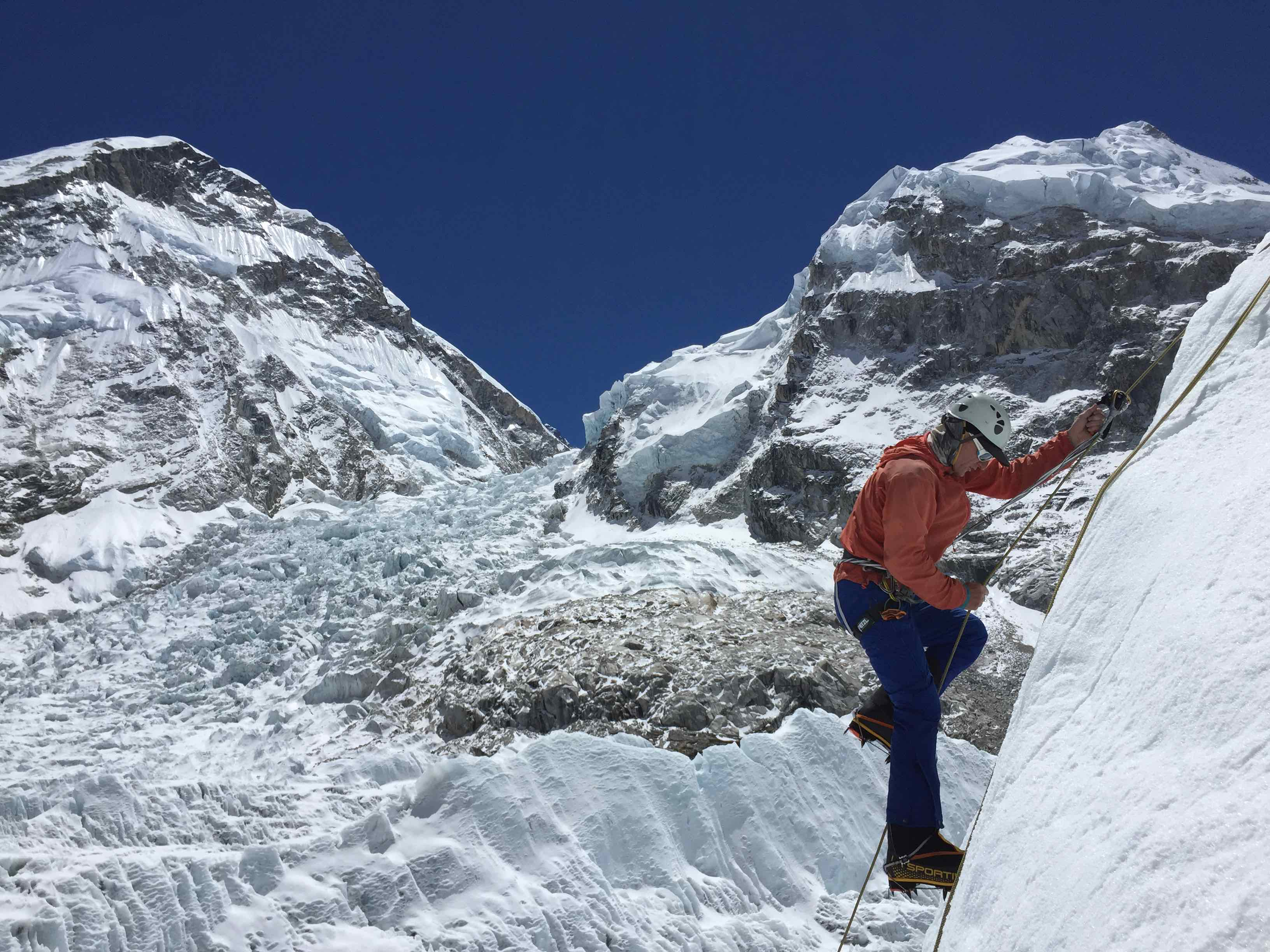 April 2018 – Climbing the Seven Summits with Mike Hamill