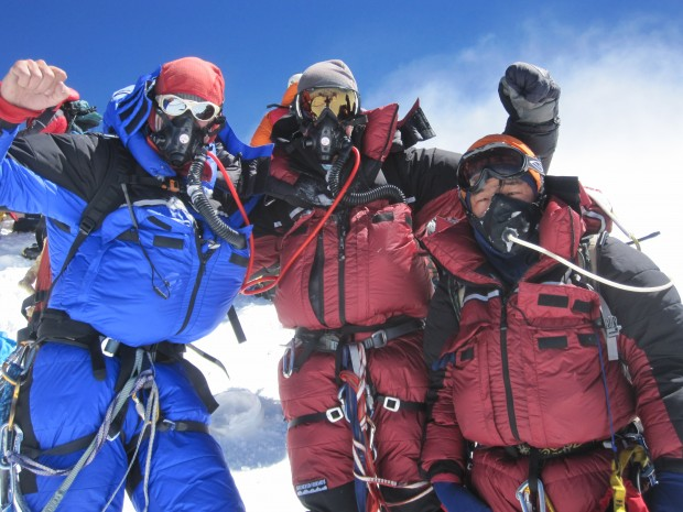 Celebrating the summit