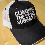 Climbing the Seven Summits Ball Cap